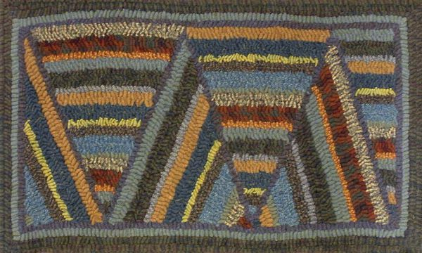 Keeping the past alive rug hooking gallery